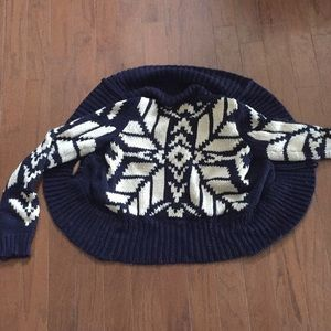 American Eagle circle sweater cardigan Med